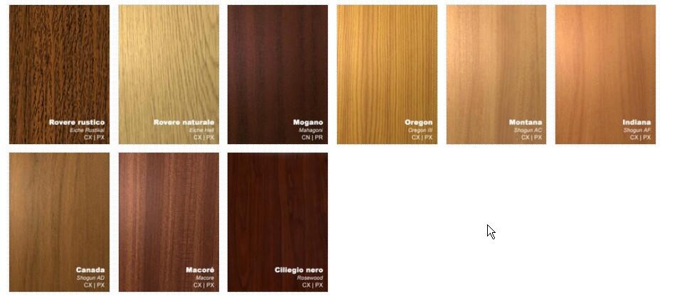 Colori for Serramenti pvc legno