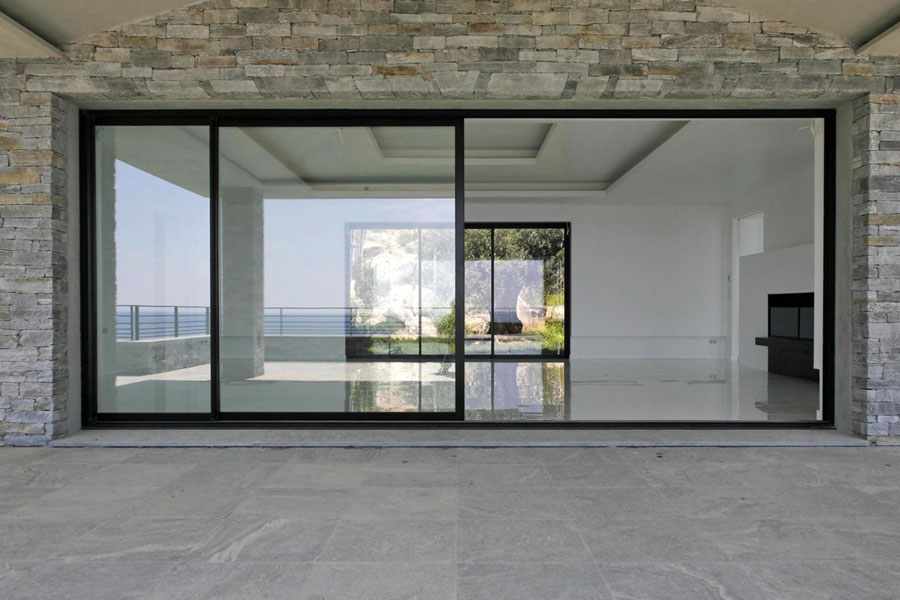 Serramenti in alluminio for Porta e finestra insieme